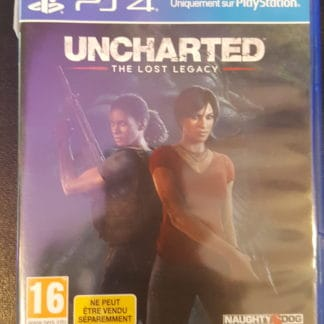 Uncharted : The Losy Legacy Ps4