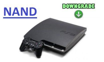 downgrade nand ps3