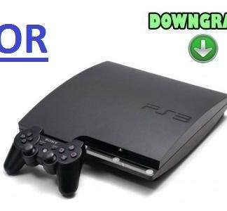 downgrade ps3 nor