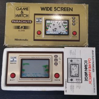 Console Game And Watch Parachute Occasion Boîte