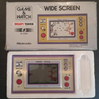 Console Game And Watch Snoopy Tennis boîte occasion