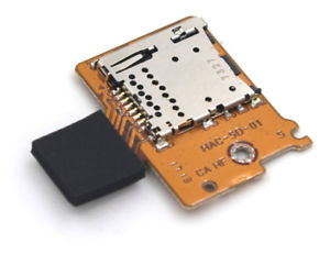Lecteur micro sd Switch